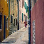 Gasse in Zadar