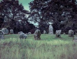 Menhirkreis in Carnac