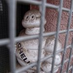 Michelin hinter Gittern