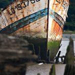 Schiffsfriedhof Lanester Bretagne #11