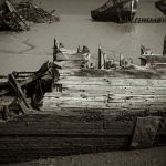 Schiffsfriedhof Lanester Bretagne #4