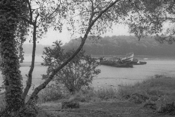 Schiffsfriedhof Lanester Bretagne #5