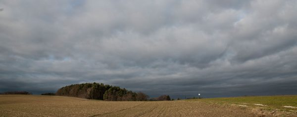 Winterlandschaft in Franken