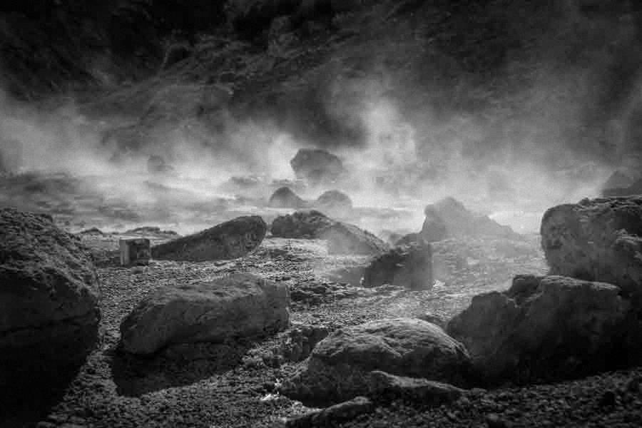 Geothermalgebiet Seltun Island