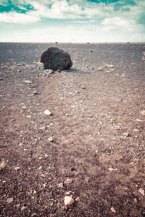 Wüstenlandschaft auf Island